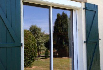 Fenêtre et volet solaire à Rennes