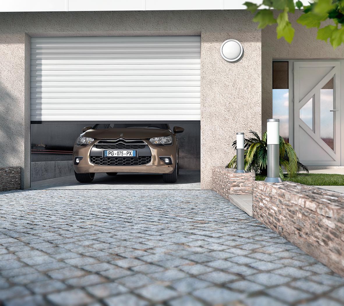Porte De Garage Enroulable