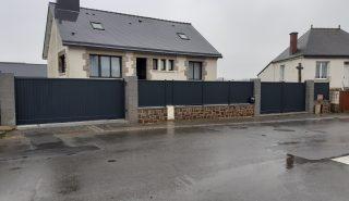 Installation de Portail et clôture à Fougères