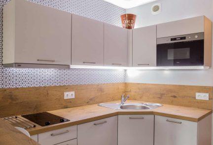 Installation d'une cuisine à Granville