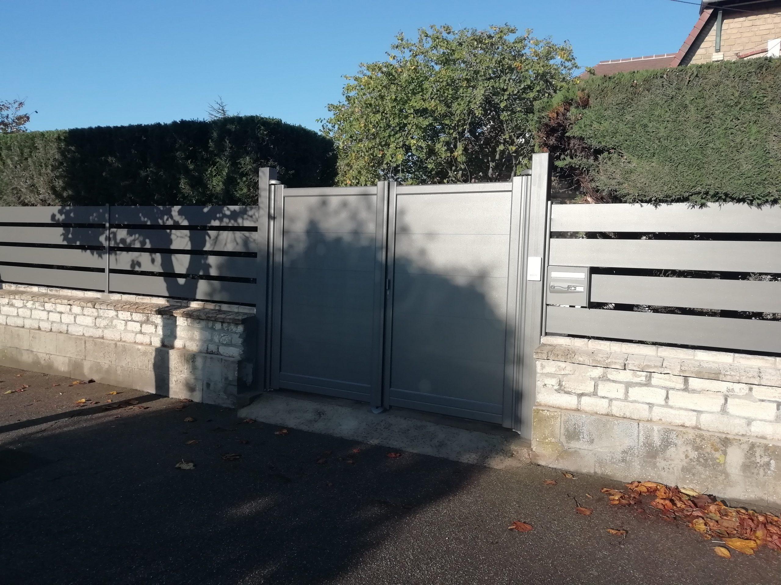Un portail pour sécuriser votre entrée